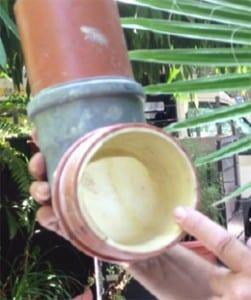 דוגמה לצינור ששורוול